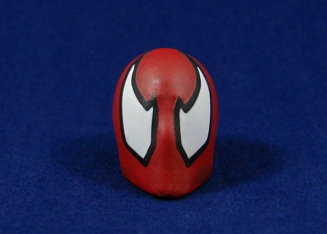 Scarlet Spider Head