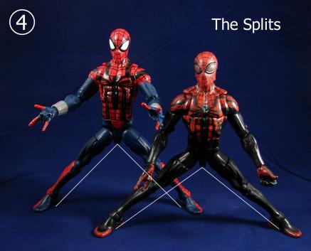 Spidey Comparison The Splits